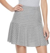 Juicy Couture Women's Shadow-Stripe Flounce Skirt