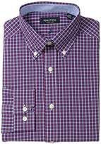 Nautica Men's Tartan Plaid Dress Shirt