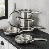 Crate & Barrel Calphalon ® Premier Stainless Steel Space-Saving 10-Piece Cookware Set