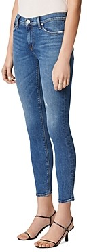 Hudson Nico Mid Rise Skinny Ankle Jeans in Ultralife