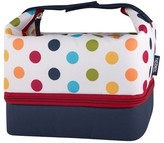 Thermos Genuine Brand Lunch Bag with Bento Box - Polka Dots