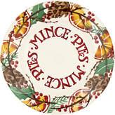 Emma Bridgewater Holly Wreath Mince Pies 8.5 Plate, Multi, Dia.22cm