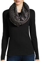 MIXIT CLASSICS Striped Pleated Wrap Scarf