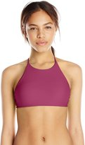 Body Glove Women's Smoothies Elena High Neck Bikini Crop Top
