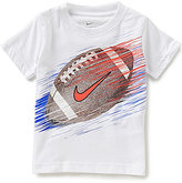 Nike Little Boys 2T-7 Football Line Short-Sleeve Tee