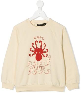 Mini Rodini Octopus-Print Sweatshirt