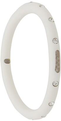 Chanel Pre-Owned 2000 logo plaque bangle