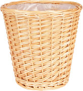 Household Essentials Small Willow Waste Basket