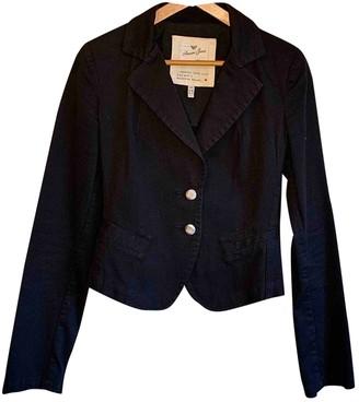 Armani Jeans Black Cotton Jacket for Women