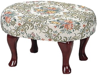 Copper Grove Willamette Upholstered Cherry Footstool