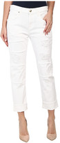 7 For All Mankind Relaxed Skinny w/ Patches & Destroy in White Fashion 2