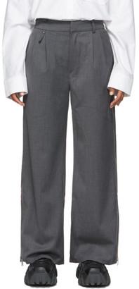 ADER error Grey Palla Trousers