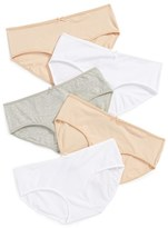 Tucker Girl's + Tate 5-Pack Hipster Briefs