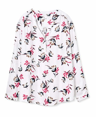Seidensticker Women's Tunika Langarm Floral Blouse