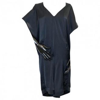 Helmut Lang \N Black Silk Dresses