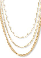 Steve Madden Women's Layered Chain Choker