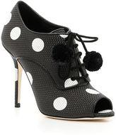 Dolce & Gabbana Mediterranea Mesh Ankle Boots