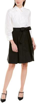 Carolina Herrera Silk Shirtdress