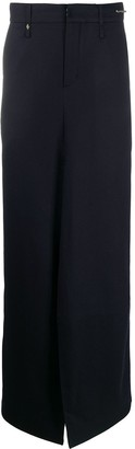 Ader Error Skirt-Overlay Tailored Trousers