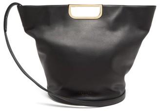 Tsatsas Anouk Leather Tote Bag - Black