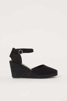 H&M Wedge-heeled espadrilles