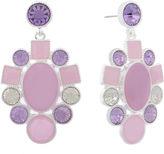 MONET JEWELRY Monet Jewelry Purple Drop Earrings
