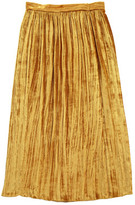 Masscob Velvet Maxi Skirt