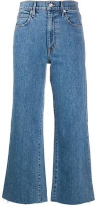 SLVRLAKE Grace cropped jeans