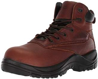AdTec Men's Fire and Safety Boot's Full Grain Tumbled Leather + Waterproof Upper Ankle