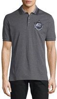 Givenchy Monkey Brothers Pique Polo Shirt