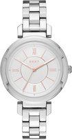 DKNY Women's Ellington Stainless Steel Bracelet Watch 34mm NY2582