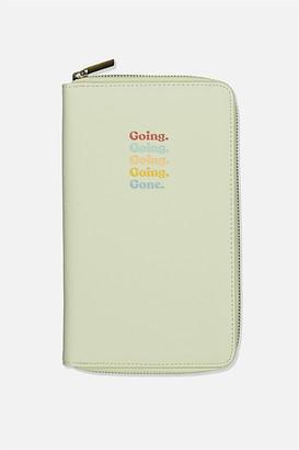 Typo Rfid Odyssey Travel Compendium Wallet