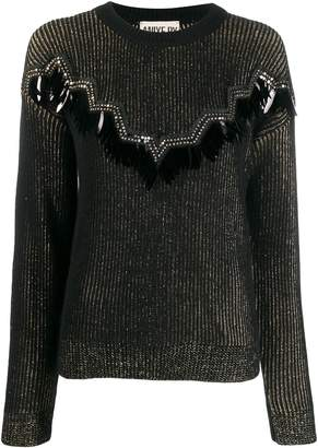 Aniye By embellished knit sweater
