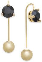 Kate Spade 14k Gold-Plated Stone & Ball Hanger Earrings