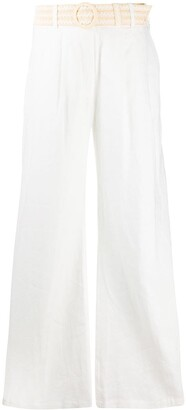 Zimmermann Belted Waist Trousers
