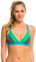 Prana Women's Colorblock Atla Sports Bra Bikini Top 8136346