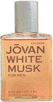 Jovan White Musk by Coty for Men 6.0 oz Cologne Pour (Unboxed)