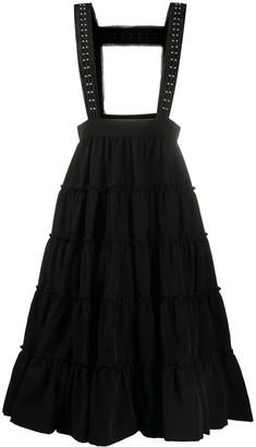 Comme des Garcons Flared Dungaree Skirt