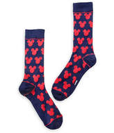 Disney Mickey Mouse Navy and Red Socks - Adults