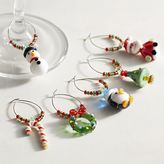 Pier 1 Imports Christmas Icons Wine Charm Set