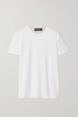 Loro Piana Cotton-jersey T-shirt - White