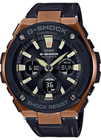 Casio G-shock Chronograph Leather Strap Watch
