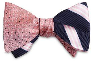 Brooks Brothers Stripes Reversible Bow Tie