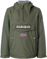 Napapijri zipped neck windbreaker