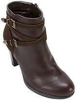 Rialto Ankle Boots with Double Buckle Detail- Pasedena
