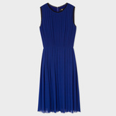 Paul Smith Women's Indigo Pleated Dress