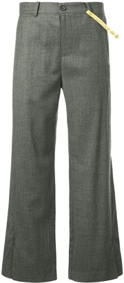 Ader Error Cropped-Length Trousers