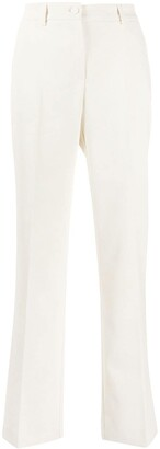 Hebe Studio Ribbed Pleated Trousers