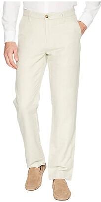Nautica Classic Fit Linen Pants (Wheat Flax) Men's Casual Pants