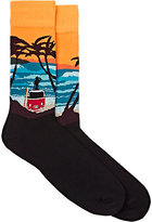 Corgi Men's Surfer Cotton-Nylon Socks